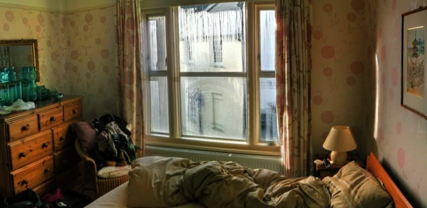 An unclean bedroom could be affecting your sleep