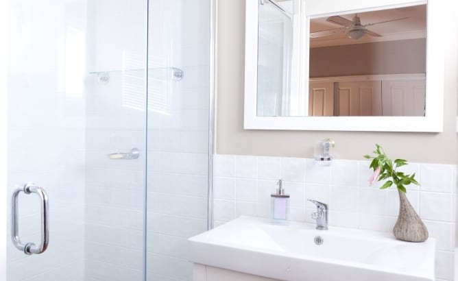 Three reasons to take extra care when cleaning the bathroom