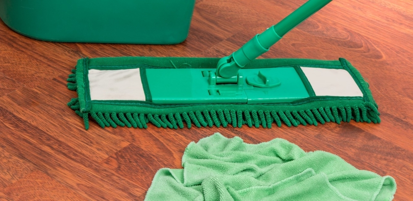 Three tips for mopping the floor